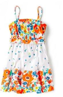zara POPPY PRINT DRESS 14.99 GBP