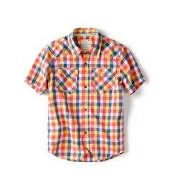 Zara multi coloured check shirt