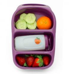 Bynto Goodbyn lunchbox: plum
