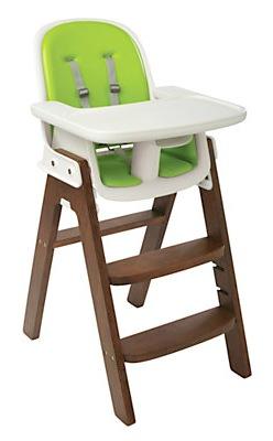 OXO Tot Sprout Highchair, Green/Walnut