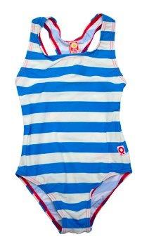 Katvig Blue and White 50% UV Swimsuit