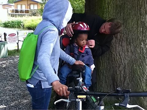 Bambino Goodies bike rides Ribby Hall Village