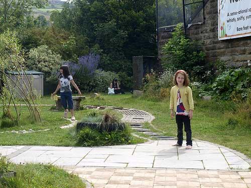 Eureka playground - textured path