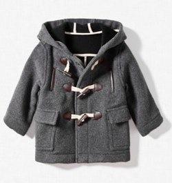 HOODED DUFFLE-COAT Zara