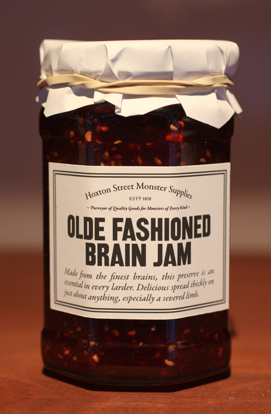 Olde Fashioned Brain Jam from Monster Supplies of Hoxton