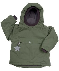 Mini A Ture Wen Clover Winter Pullover Jacket