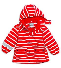 red striped jacket by Lindex