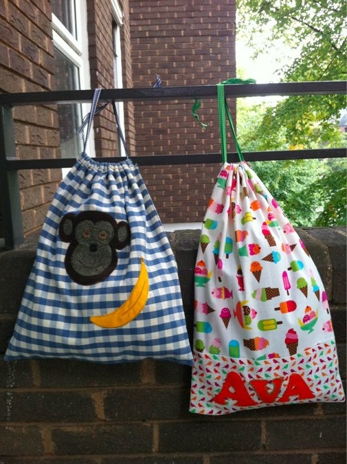 Tote bags by Scamp Baby Gifts
