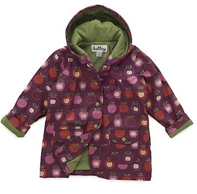 HATLEY Nordic Apples Cotton-Lined Raincoat