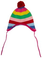 Knitted Hat Girly Stripe Toby Tiger