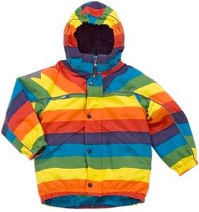 Molo Castor Rainbow Coat