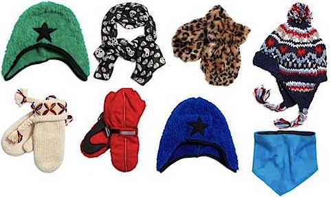 Lindex hats, scarves and gloves