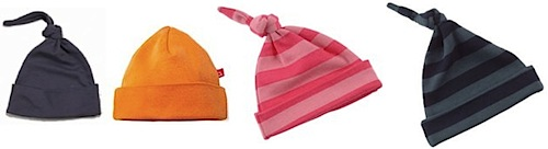 baby hats by limo baby, bob and blossom