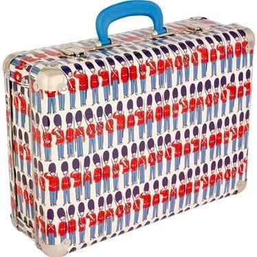 Cath Kidston Guards Suitcase
