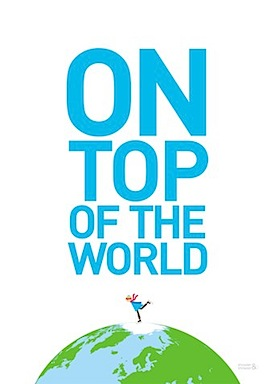 Showler & Showler On Top Of The World Print