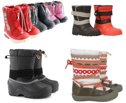 Snow Boots on BG
