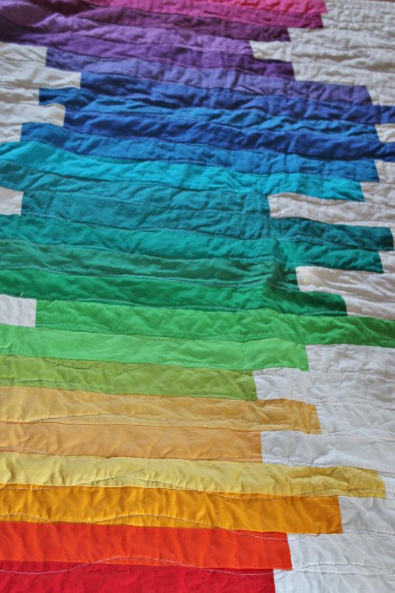 Duvet Rainbow Quilt