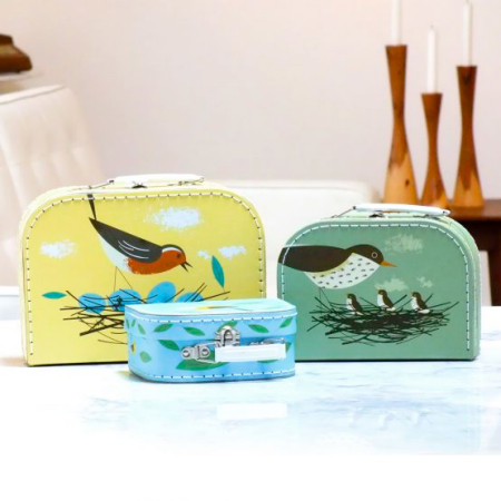 Birdy suitcases by Magpie