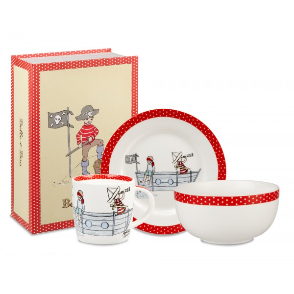 Belle & Boo Pirate Party chinaware