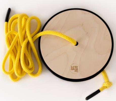 Rafa-kids S swing in yellow from Bambino Goodies