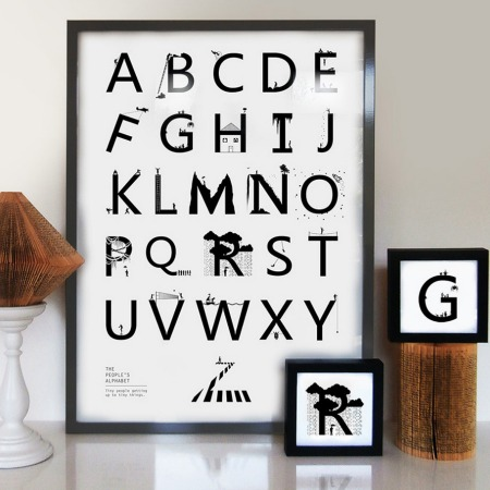 Alphabet by Eleanor Stuart
