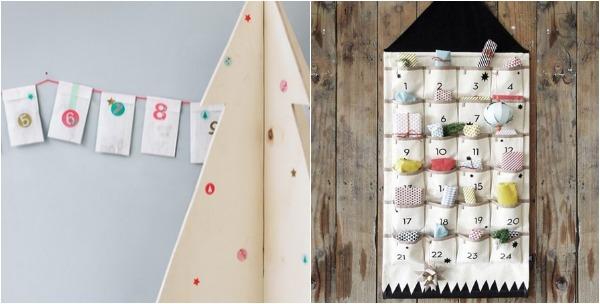 Modern Advent Calendars for Kids