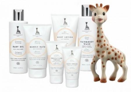 Sophie La Giraffe organic skincare