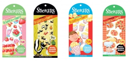 Scratch-and-Sniff stickers by Peaceable Kingdom