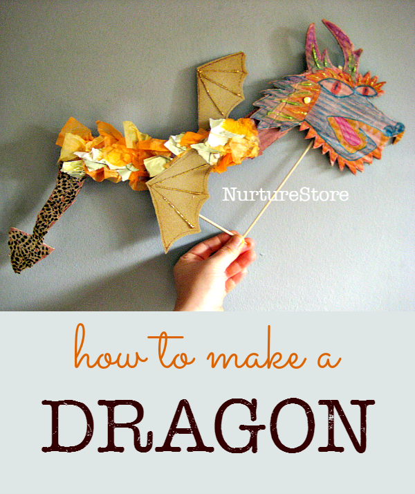 How to make a dragon - Chinese New Year Craft