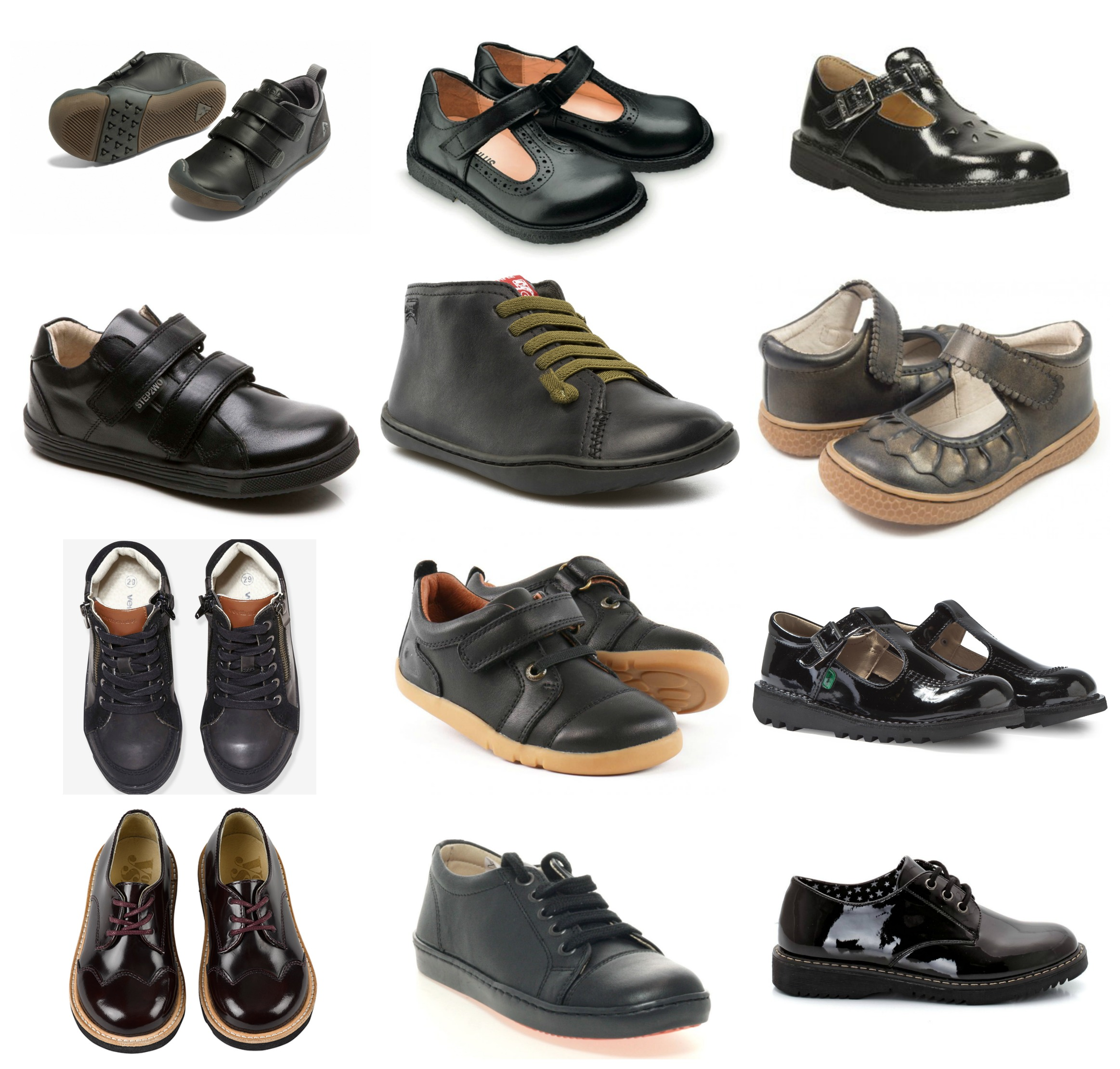 Stylish School Shoes 2016 Boys Girls