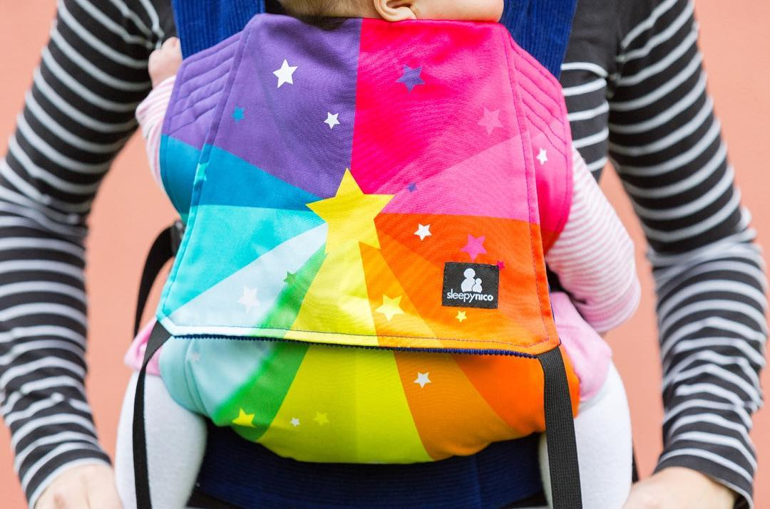 Wild Things rainbow starburst carrier